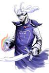Asriel Dreemurr by ShadowClawZ