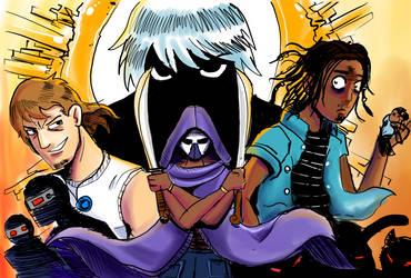 Villains concept illustration 2 by ShadowClawZ