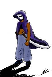 The masked one by ShadowClawZ