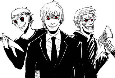 The Three Darks by ShadowClawZ