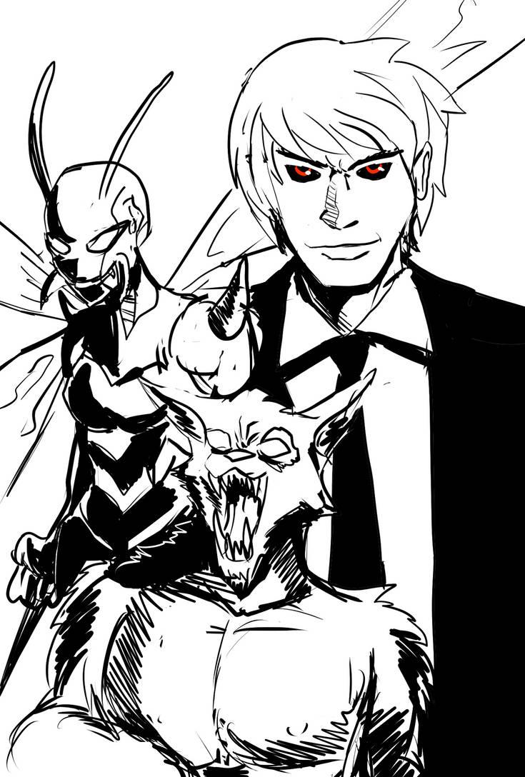 Wolf Villains by ShadowClawZ