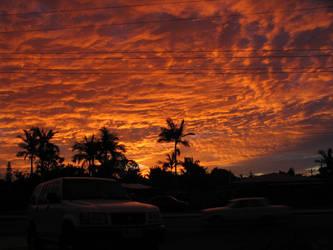Fire Sky by redvaldez