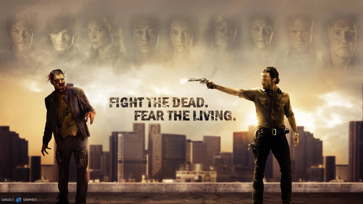 the walking dead wallpaper hdsamuels-graphics on deviantart