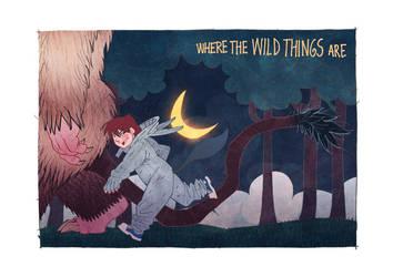 Where the Wild Things are by JaimePosadas