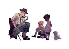 Jazz Man by JaimePosadas