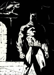 The dark Knight by Disturbed-Images