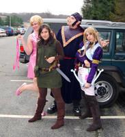Zelda Cosplay Group by LilithOya