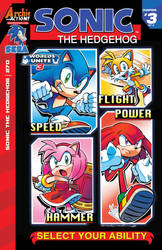 Archie Sonic the hedgehog #270 *COVER* by I-use-windows-vista