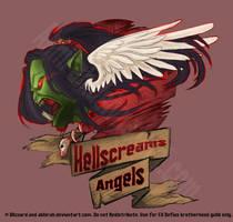 Hellscreams angels by Wulfgnar