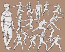 Men practice 1 by Wulfgnar