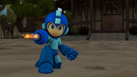 Megaman by tannerthecat1996
