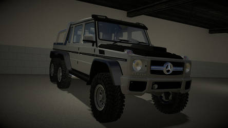 mercedes g65 amg 6x6 by tannerthecat1996