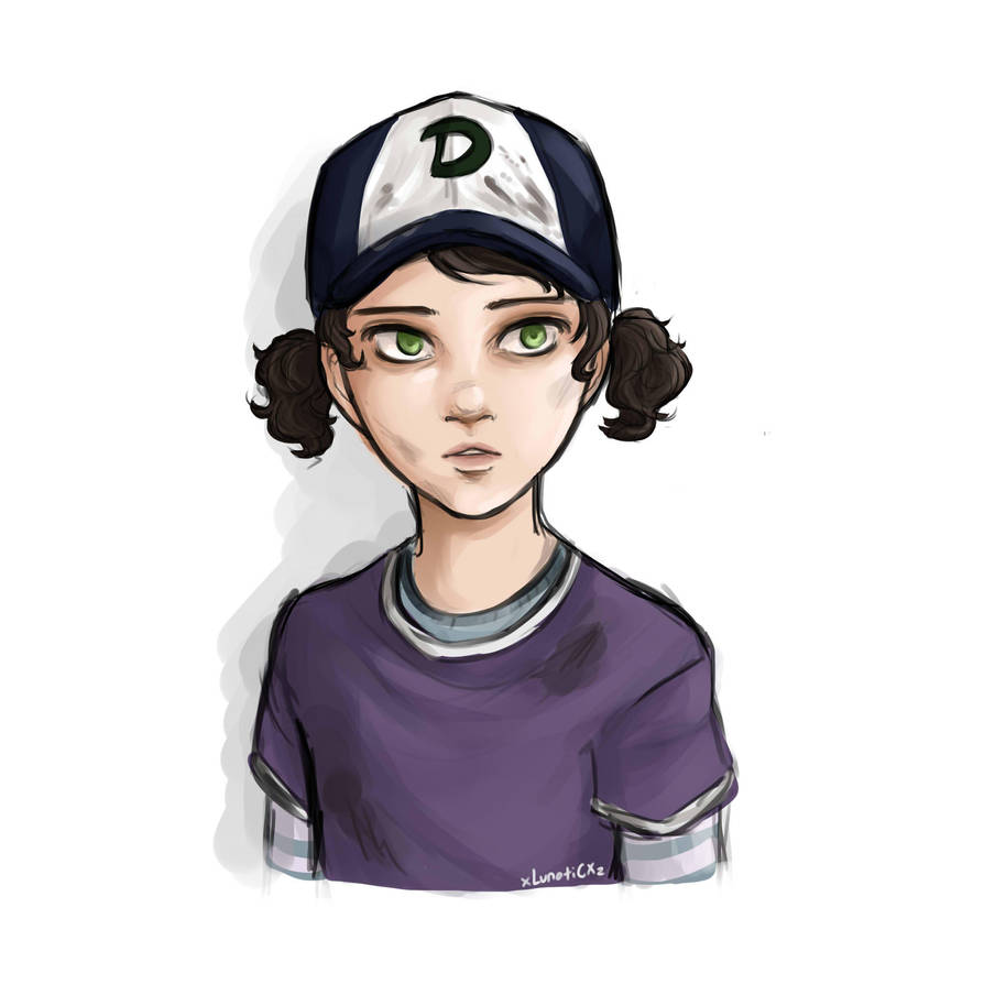 police clementine sketch