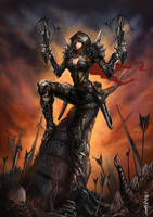 Demon Hunter - DiabloIII by BADCOMPZERO