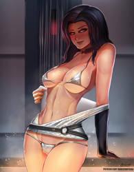 Miranda Lawson - Mass Effect by BADCOMPZERO