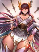 Divine Sword Irelia by BADCOMPZERO