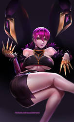 KDA Evelynn by BADCOMPZERO