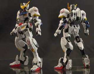 HG Gundam Barbatos - Front/Rear by AlmightyElemento