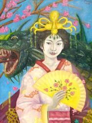 Japanese empress by rennitsuga