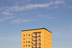 Yellow building by Acegikm0
