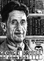 George Orwell by magnetic-eye
