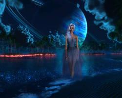Selene, Goddess of the Moon by Kiwimango9