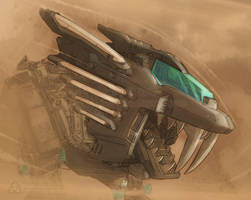 ZOIDS - Chaotic Fury in a Sandstorm by AaronAsher