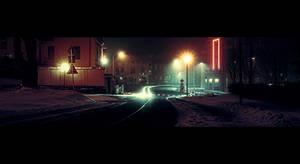 City night by FrantisekSpurny