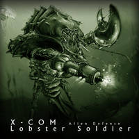 XCOM Lobster Soldier by Winterhall