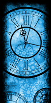 Only Time Will Tell [Custom Box BG] (Blue) by darkdissolution
