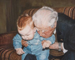Generations - Oil Painting by AstridBruning