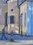 Dappled Light-Venice- OIL PAINTING by AstridBruning