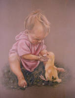 Inquisitive Connection-Pastel by AstridBruning