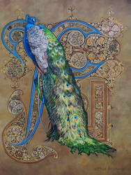 Majestic Splendour -  Oil Painting by AstridBruning