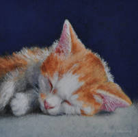 Sweet Dreams - Painting by AstridBruning