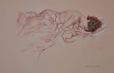 Sleeping Beauties by AstridBruning