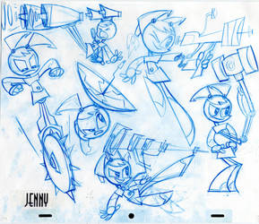 Teenage Robot: Jenny by Frederator-Studios