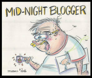 THE MIDNITE BLOGGER by Frederator-Studios