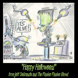 HAPPY FINSTER HALLOWEEN by Frederator-Studios