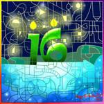 HAPPY SWEET 16TH BIRTHDAY DEVIANTART!! by Acesurin
