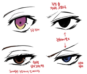 Bungou Stray Dogs - Eyes Tutorial by Rosyane