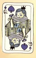 Queen of Spades by Baleineau