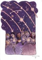 Danseuses Etoiles by Baleineau