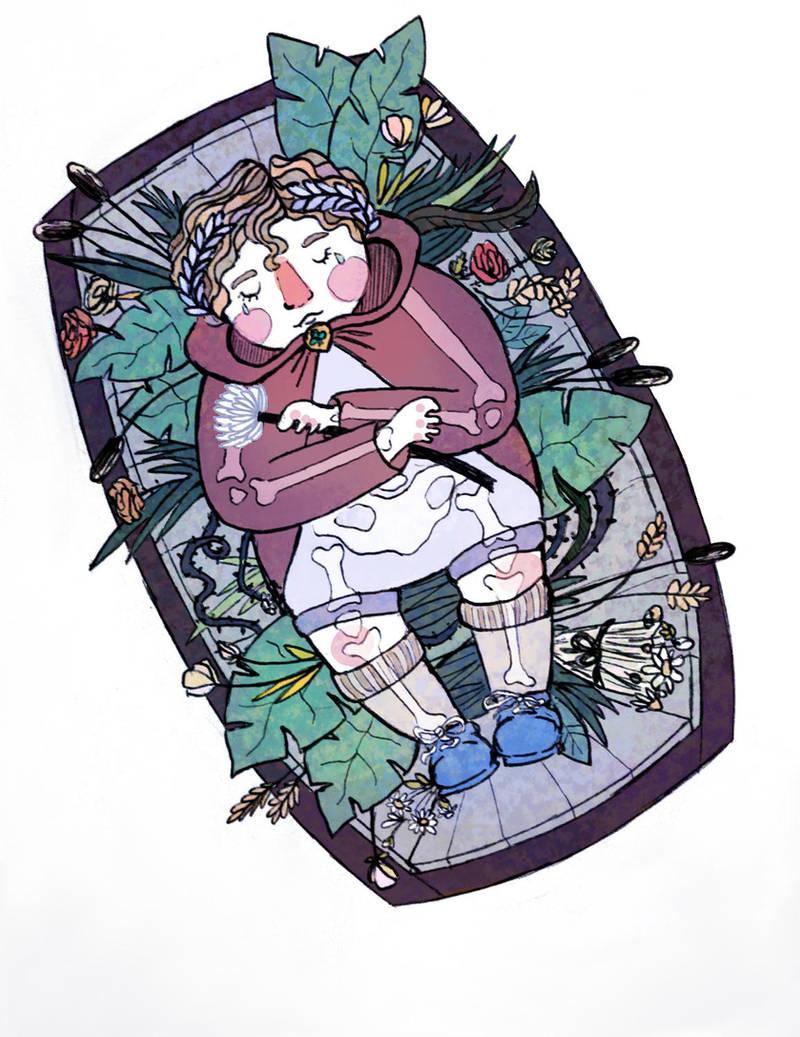 The Little Lead Coffin by Baleineau