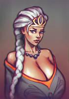 Queen Elsa by boobsgames
