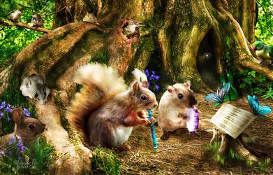Forest Symphony by vanndra
