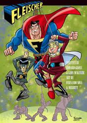 Fleischer cover book 2 final by sapienstoonz