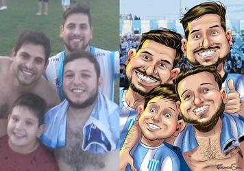 Hermanos racinguistas by sapienstoonz