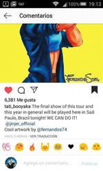 Jinjer on Instagram by sapienstoonz