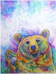 Beary Grizzly by kurawr